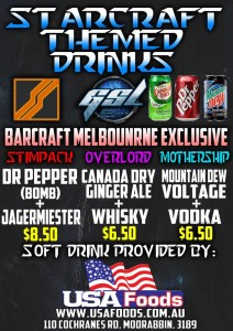 StarCraft Themed Drinks
