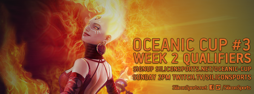 Oceanic Cup Week 2 Qualifier Signups Open
