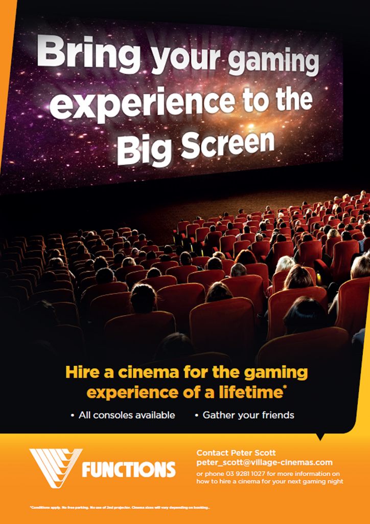 Bring your gaming to the big screen!